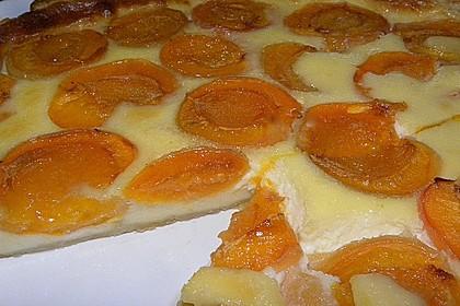 Blätterteigtarte mit Aprikosen und Heidelbeeren 3