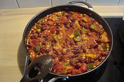 Vegetarisches Chili 4
