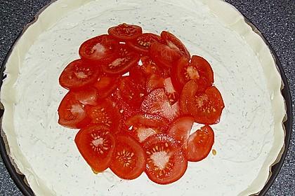 Schneller Tomatenkuchen 3