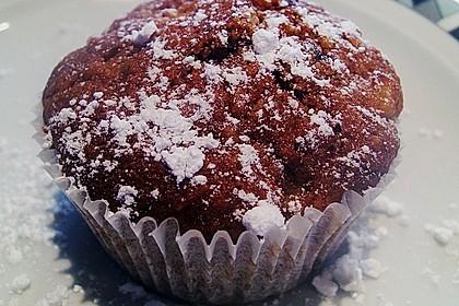 Russische Rum - Apfel Muffins 1