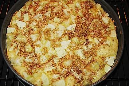 Apfel - Schmand Kuchen 3