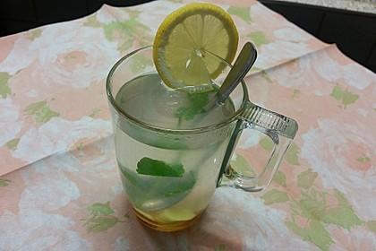 Pfefferminz - Ingwer Tee 4