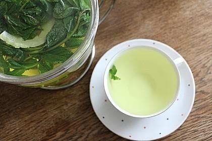 Pfefferminz - Ingwer Tee 2
