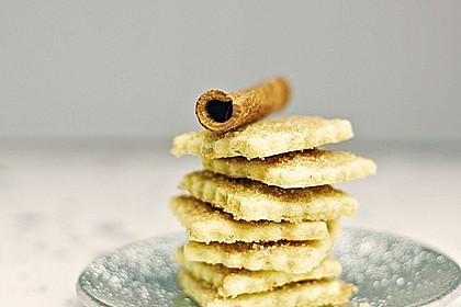 Knusprige Zimt - Zucker Stäbchen