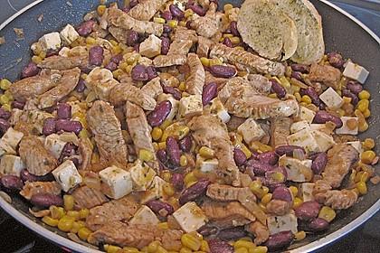 Mexikanische Hähnchen-Mais-Pfanne 4