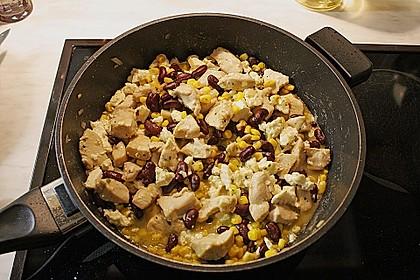Mexikanische Hähnchen-Mais-Pfanne 3