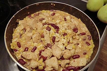 Mexikanische Hähnchen-Mais-Pfanne 5