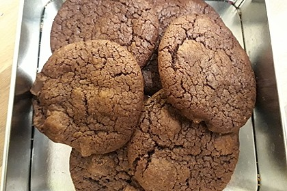 Triple Chocolate Cookies 33