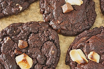 Triple Chocolate Cookies 8