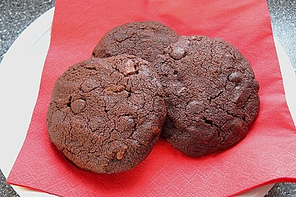 Triple Chocolate Cookies 3