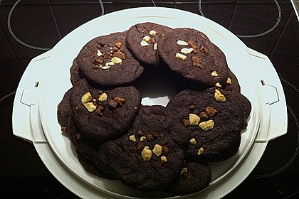 Triple Chocolate Cookies 25
