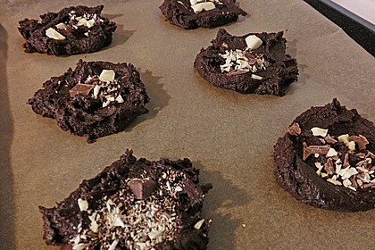 Triple Chocolate Cookies 24