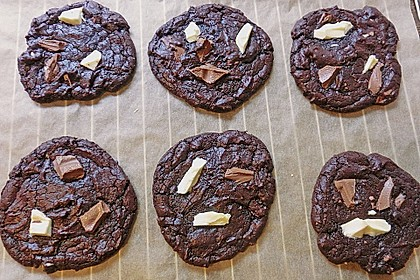Triple Chocolate Cookies 16