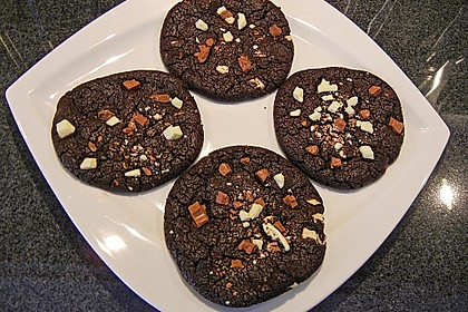 Triple Chocolate Cookies 4