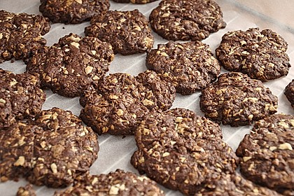Triple Chocolate Cookies 9