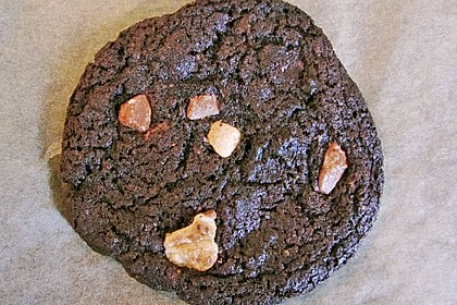 Triple Chocolate Cookies 18