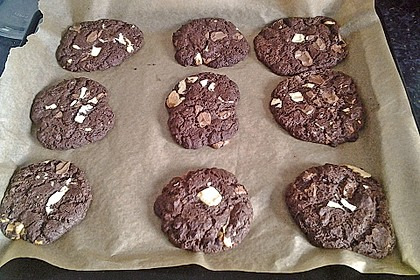 Triple Chocolate Cookies 11