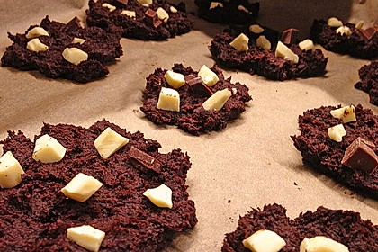 Triple Chocolate Cookies 13