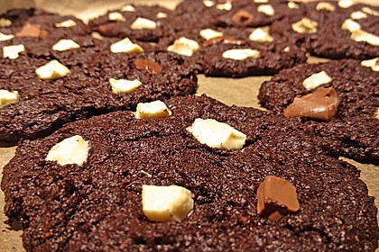 Triple Chocolate Cookies 7