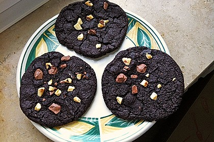 Triple Chocolate Cookies 10