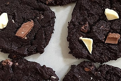 Triple Chocolate Cookies 6