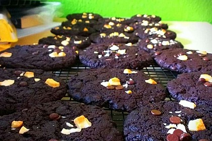 Triple Chocolate Cookies 30