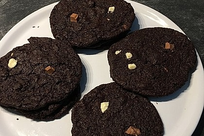 Triple Chocolate Cookies 28