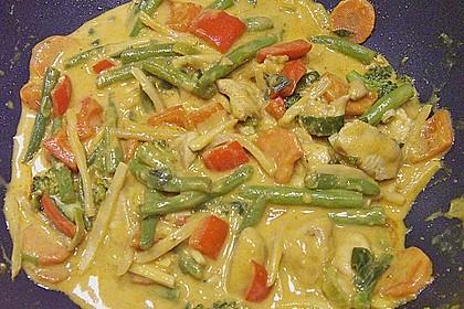 Asiatisches Curryhuhn 2