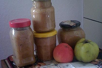 Apfel - Quitten Konfitüre 2
