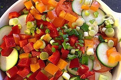 Kartoffelauflauf mit Hack und viel Gemüse 2