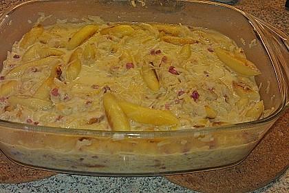 Sauerkraut - Schupfnudeln, überbacken