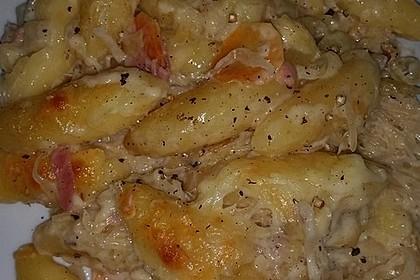 Sauerkraut - Schupfnudeln, überbacken 7