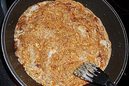 Nudeln mit Joghurt - Schafskäse - Sauce 6