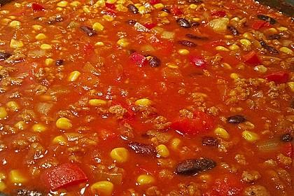 Chili sin Carne mit Sojageschnetzeltem 3