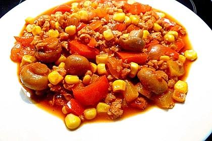 Chili sin Carne mit Sojageschnetzeltem 5