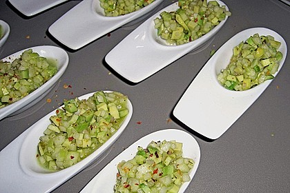 Avocado - Grüner Apfel Tatar (Bild)