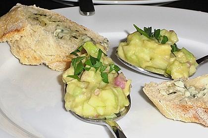 Avocado - Grüner Apfel Tatar 23