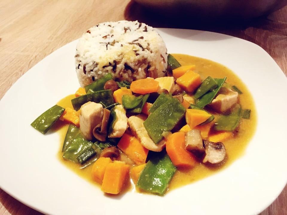Thai - Curry einfach und schnell
