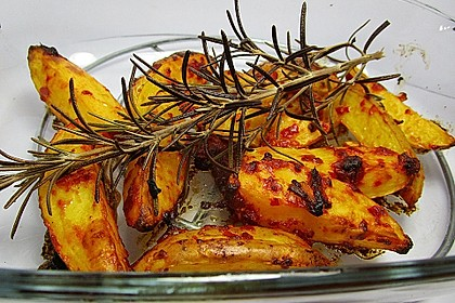 Ofenkartoffeln mit Feuer 2