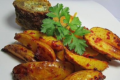 Ofenkartoffeln mit Feuer 1