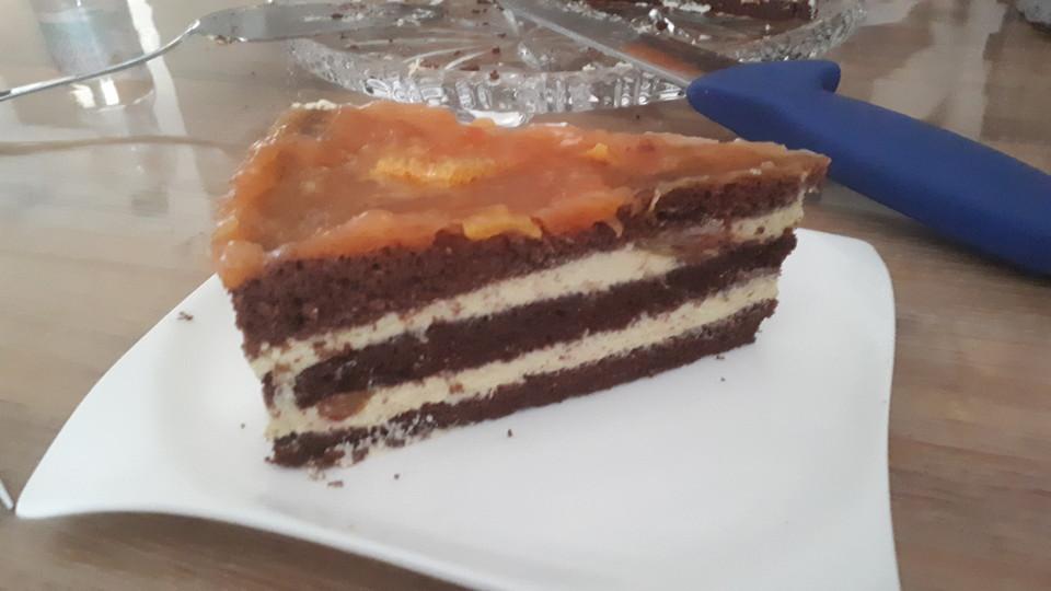 Schoko Orangen Torte Von Wuschel27 Chefkoch De