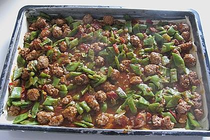 Blätterteig - Bohnen Tarte 2
