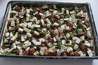 Blätterteig - Bohnen Tarte 1