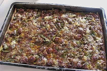 Blätterteig - Bohnen Tarte
