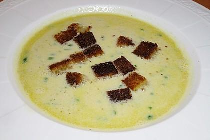 Käse - Bier Suppe