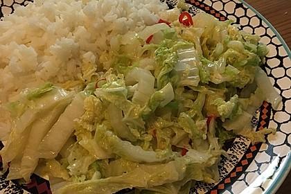Chinakohl - Gemüse 4