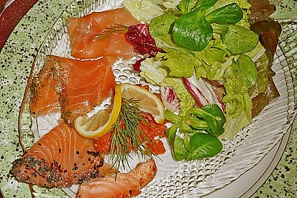 Warme Salatsoße