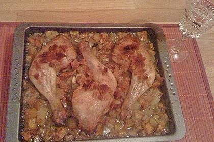 Brathähnchen mit Süßkartoffeln und Butternut-Kürbis 23