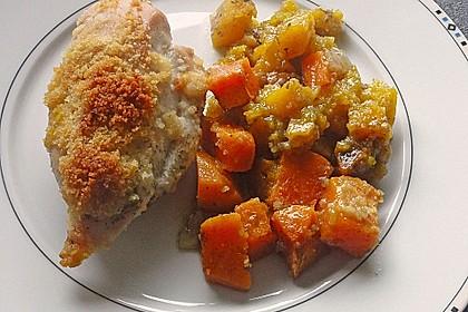 Brathähnchen mit Süßkartoffeln und Butternut-Kürbis 18