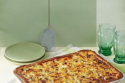Zwiebelkuchen badische Art - vegetarische Variante 2